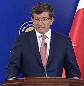 Ahmet Davutoğlu: AKPM raporunun PKK'nın terör faaliyetleriyle alakası yok