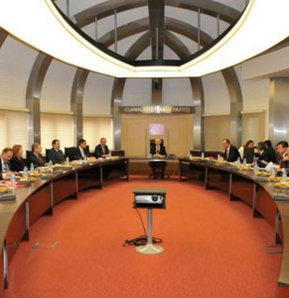 CHP Merkez Yönetim Kurulu Toplantısı, Genel Başkan Kemal Kılıçdaroğlu başkanlığında yapıldı