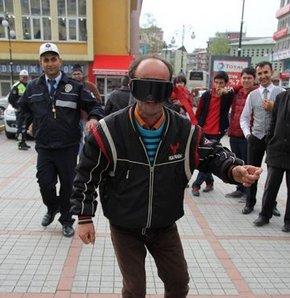 Rize'de polisten kahkahalar attıran uygulama