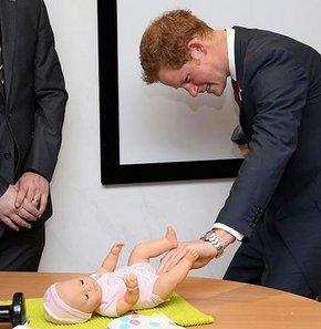Prens Harry bez değiştirme sınavından geçti