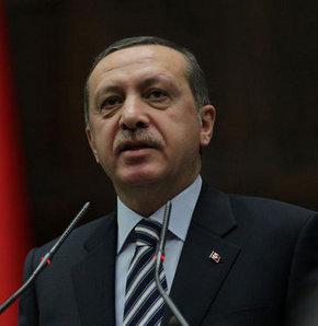 Başbakan Recep Tayyip Erdoğan, Kızılcahamam Asya Termal Otel'deki il ve ilçe başkanları toplantısında konuşuyor.