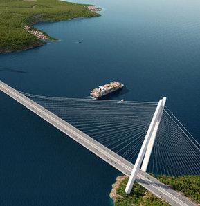 """""""Yavuz Sultan Selim"""" adı verilen köprünün simülasyonu yayınlandı"""
