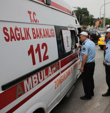Ambulans denetiminde korkutan tablo