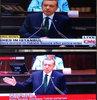 Dünya televizyonları Erdoğan'ın konuşmasını canlı verdi!