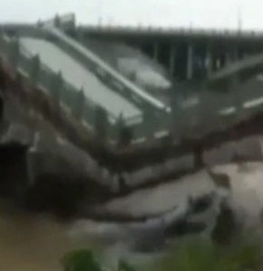Çin'de köprü faciası!