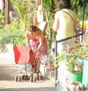 Bodrum'da aile keyfi