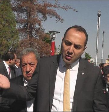 Vali CHP ve MHP'li başkanlarla tartıştı