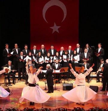 Kardeş korolardan Cumhuriyet konseri