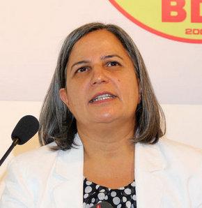 BDP Genel Başkan Yardımcısı Gültan Kışanak