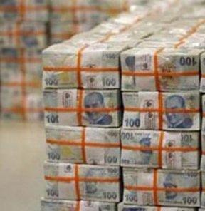 Hazine 4.5 milyar lira borçlandı
