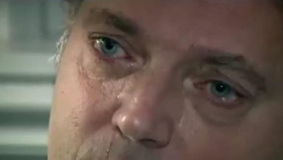 Cem Uzan gözyaşlarını tutamadı