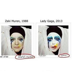 Lady Gaga Zeki Müren'i taklit etmiş!