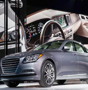 Hyundai'nin premium segmentteki modeli Genesis, yepyeni haliyle Kuzey Amerika Uluslararası Otomobil Fuarı (NAIAS),Detroit'te sahne aldı