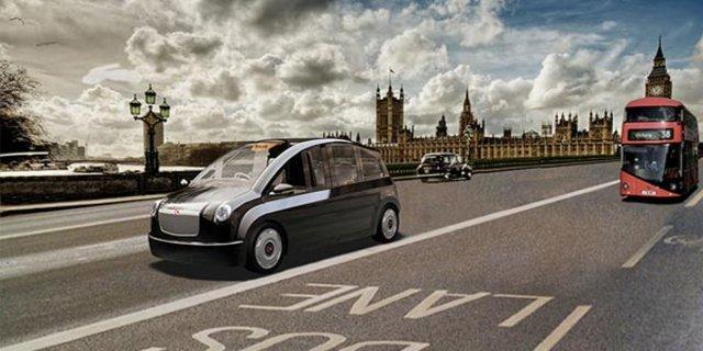 Karsan'ın taksi modeli V'in Londra modeli elektrikli olacak