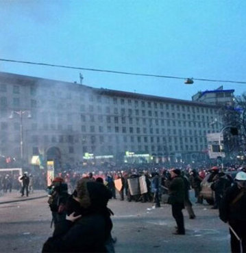 Kiev'de kan aktı