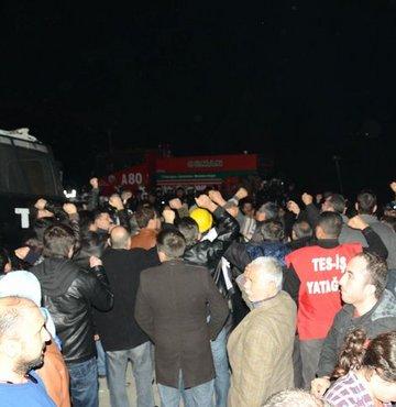 Özelleştirme karşıtı işçiler Ankara yolunda