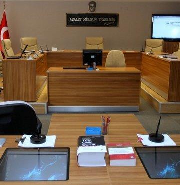 İstanbul Adliyesi'nde yeni sistem