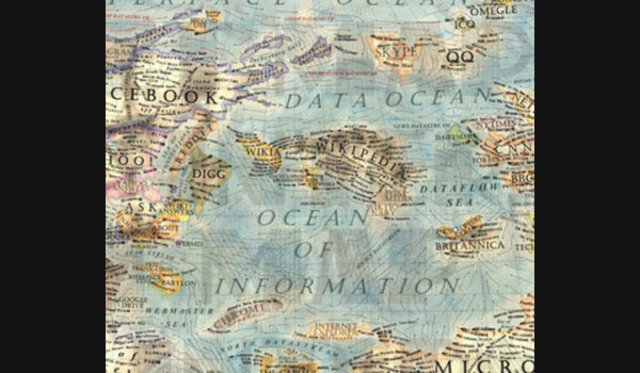 Dünya internet haritası