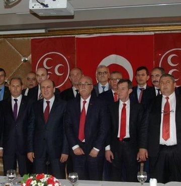MHP'nin Balıkesir Belediye başkan adayları tanıtıldı