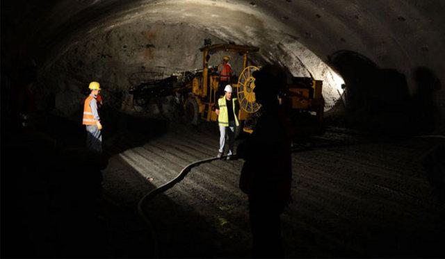 Türkiye'nin en uzun tüneli Orhangazi Samanlı Tüneli, gebze orhangazi izmir tünel