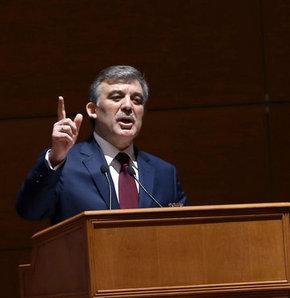 Cumhurbaşkanı Abdullah Gül, özel yetkili mahkemeler