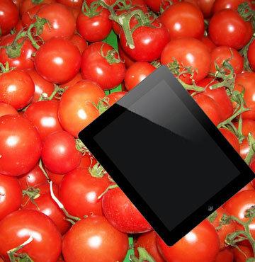 1400 kilogram domates 1 iPad etmiyor!