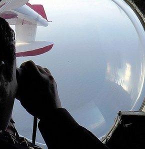 Kaybolan Malezya uçağı, Karada ve denizde çarpma tespit edilmedi