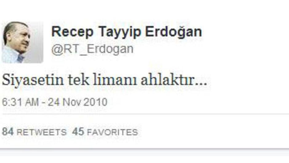 İşte ilk tweet!