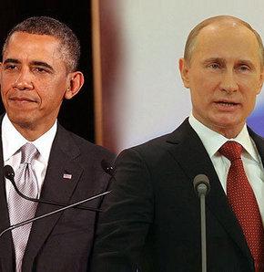 Obama ve Putin Ukrayna'yı konuştu