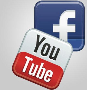 Facebook'a yüklendik, inadına Youtube'dayız!