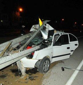 Bu otomobilden sağ çıktı,Bunun adı mucize!,Bu araçtan sağ çıktı!Edirne trafik kazaı,trafik kazası