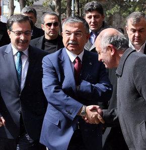 Savunma Bakanı, ismet yılmaz, oy kullandı, sivas, Fevzi Paşa İlköğretim Okulu