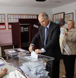İçişleri Bakanı, Efkan Ala, oy kullandı, Çankaya, ankara