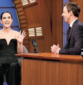 Jennifer Connely, Late Night With Seth Meyers