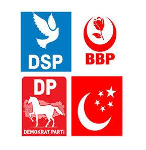 Saadet Partisi, Demokrat Parti, DSP ve BBP,30 mart,seçim,yerel seçim
