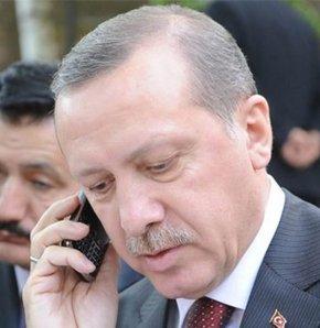 Başbakan Mamuşalı Türklere cep telefonundan seslendi, Başbakan Erdoğan onlara telefondan seslendi