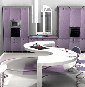ilginç mutfak tasarımları, dekorasyon