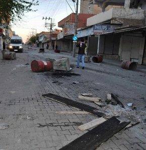 Ceylanpınar'da seçim gerginliği!, Ceylanpınar'da sokaklar savaş alanına döndü!