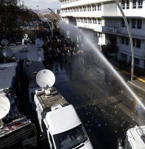 YSK, Mansur Yavaş, Polis müdahalesi