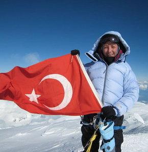 Türk, kadın, dağcı,  Gülnur Tumbat, everest, çıkan türk kadını