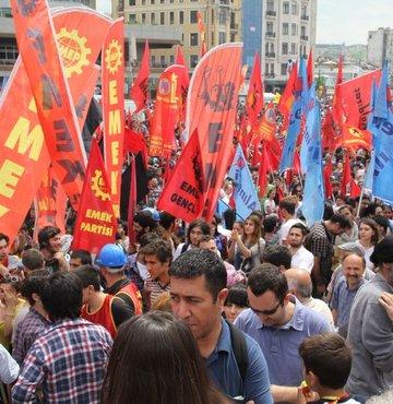 """""""Bedeli ne olursa olsun 1 Mayıs'ta Taksim'deyiz"""""""