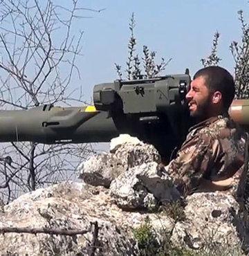 ABD'den ÖSO'ya ilk ağır silah desteği