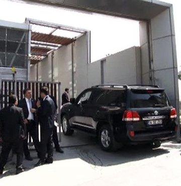 Başbakan'ın danışmanı kaza geçirdi