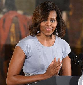 ABD Başkanı Barack Obama'nın yerine bu hafta ulusa seslenen First Lady Michelle Obama, Nijerya'da geçen ay 200'e yakın kız öğrencinin kaçırıldığı olayı kınadı.