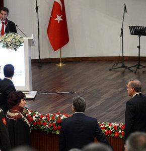 Metin Feyzioğlu, Danıştay, konuşma, Başbakan Erdoğan