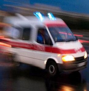 Şirvan'da trafik kazası