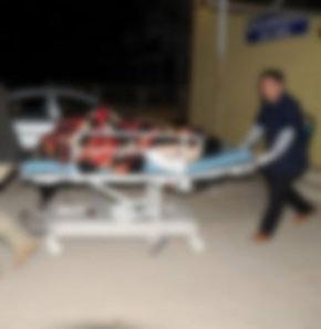 Suriye'de yaralanan 4 kişi Türkiye'ye getirildi