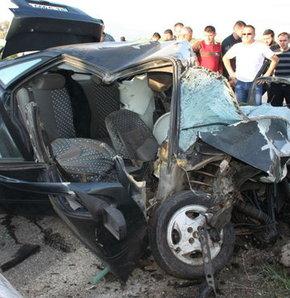 Konya'da zincirleme kaza!