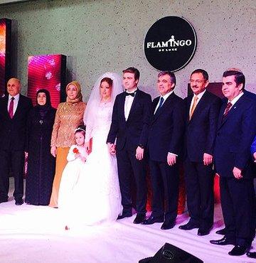 Cumhurbaşkanı Gül nikah şahidi oldu