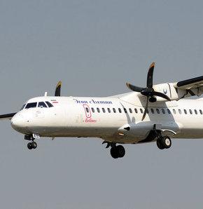 Uçak pistten çıktı!,İran'da zorunlu iniş yapan uçağın 9 yolcusu yaralandı,İran'da Meşhed-Zahedan seferi yapan yolcu uçağının, yaptığı zorunlu iniş sırasında 9 yolcunun yaralandığı bildirildi